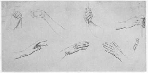 Julius_Schnorr_von_Carolsfeld_Händestudien 1794-1872
