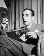 humphrey bogart reading